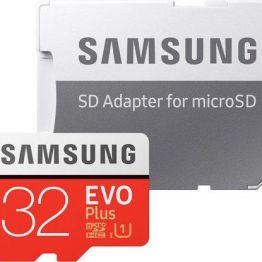Samsung Evo Plus microSDHC 32GB U1 with Adapter