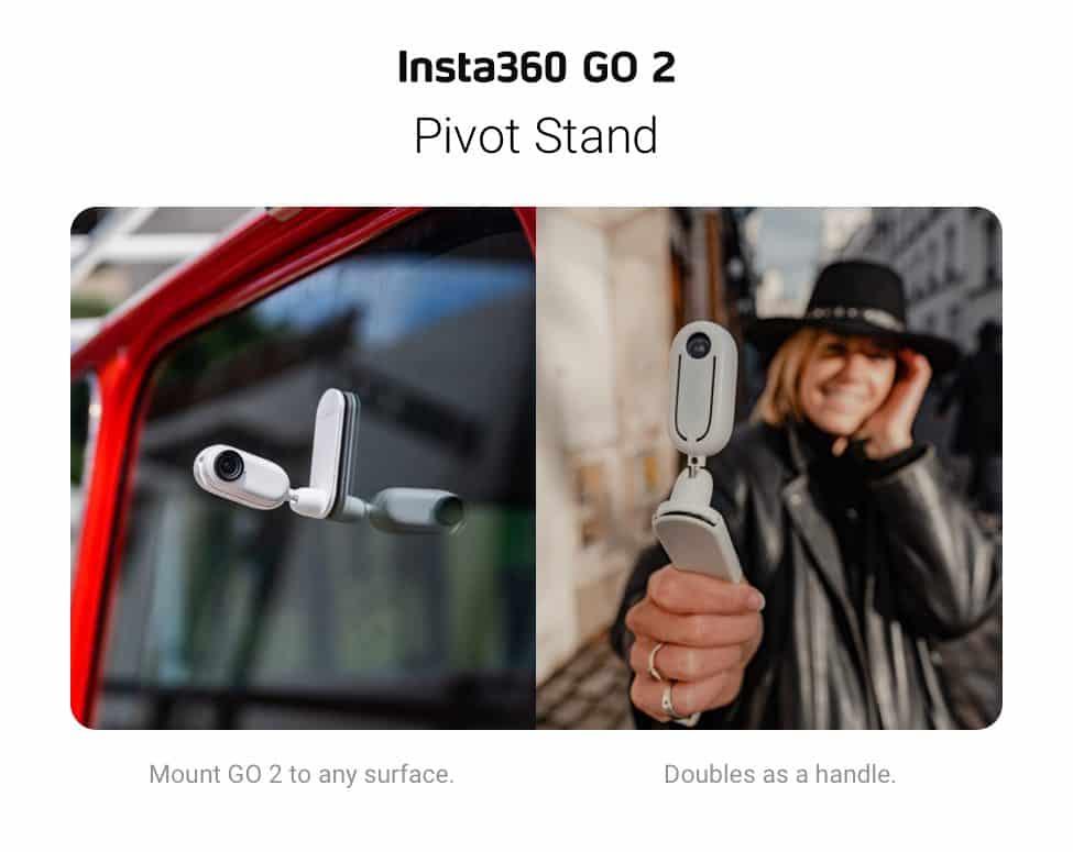 Insta360 GO 2 Pivot Stand