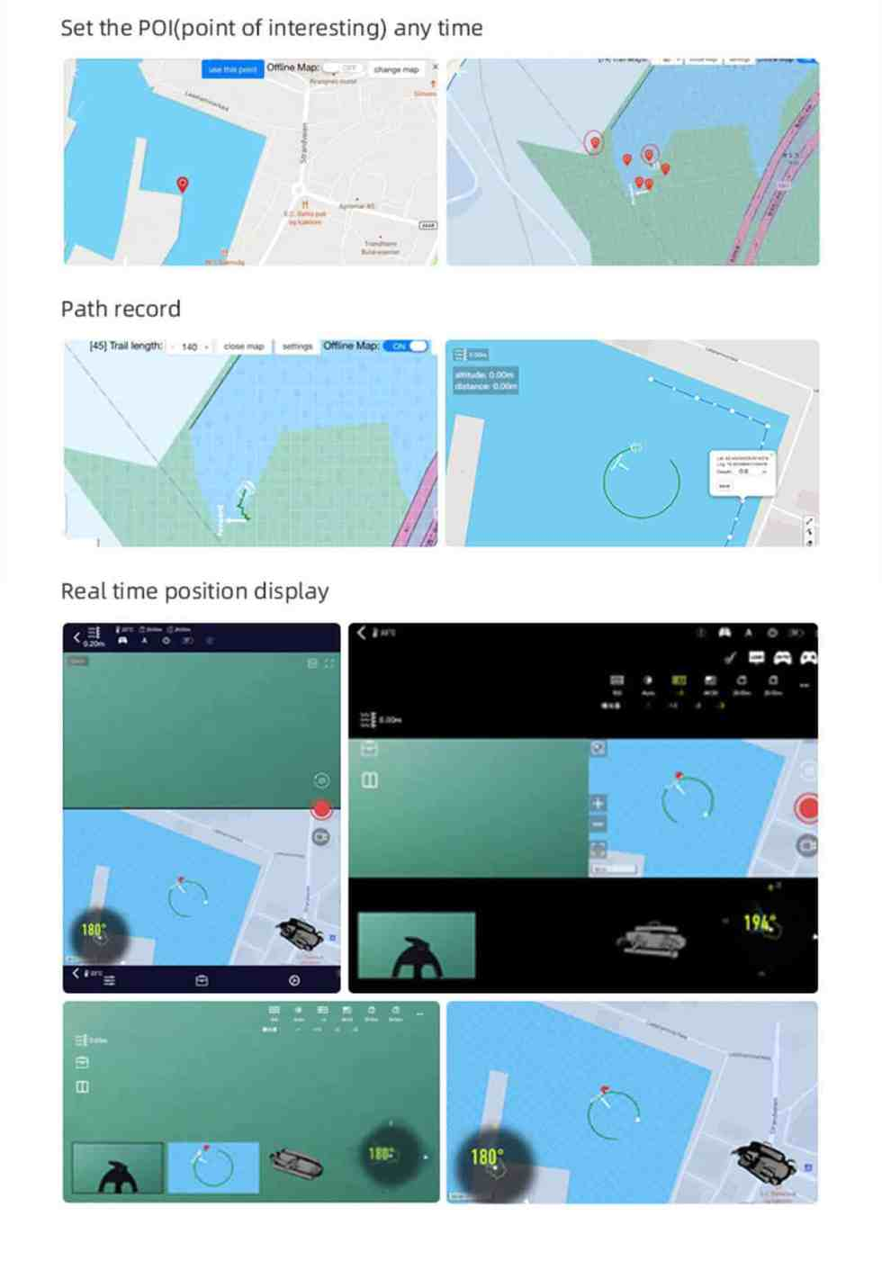 Quick Positioning System for FIFISH V6 Plus QYSEA