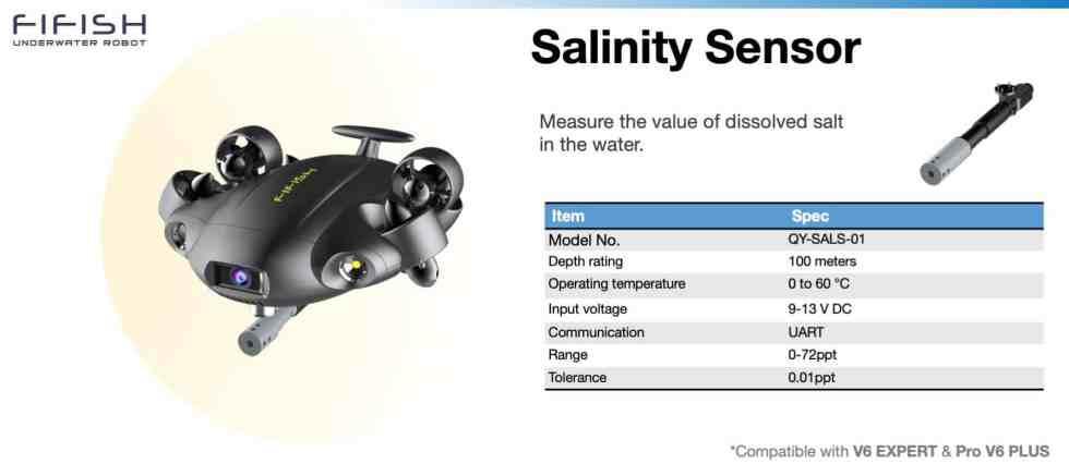 Salinity Sensor for FIFISH