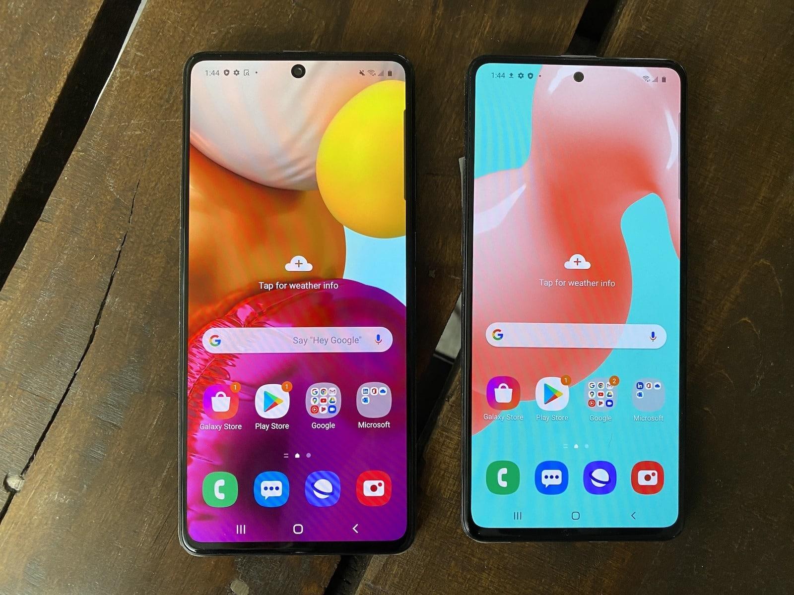 Samsung Galaxy A51 A71 Smartphone Review Techgadgetscanada Com