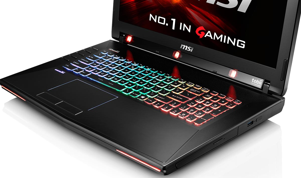 MSI CES 2016 GT72S Tobii Eye Tracking Laptop Amp The