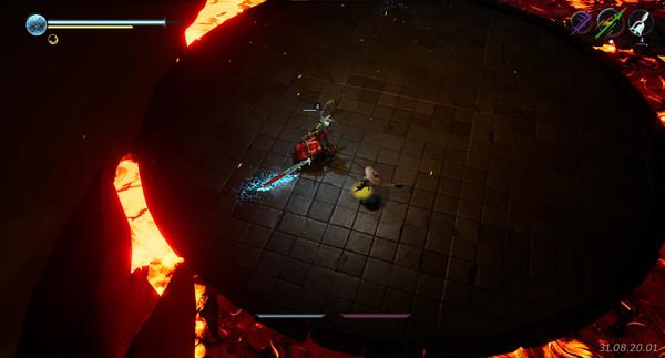 Image of Parrying from Sands of Aura