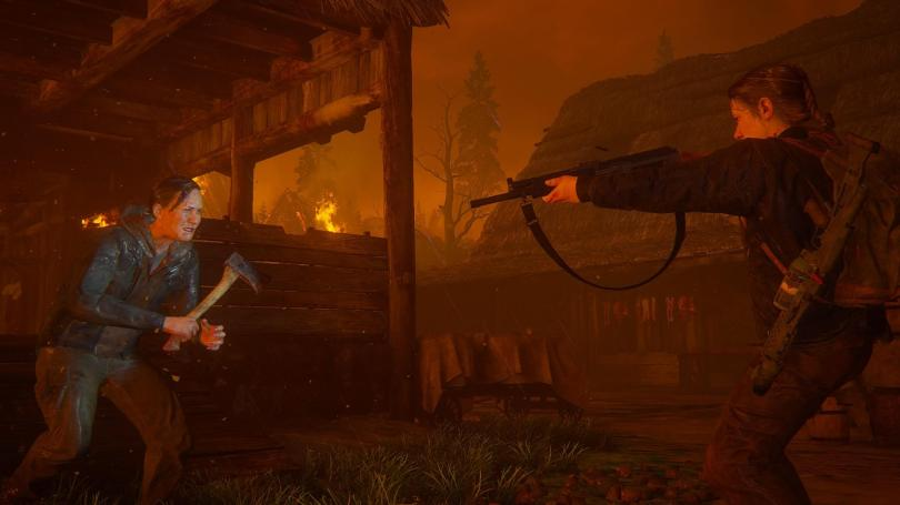 Image filled with Fire from The Last of Us 2