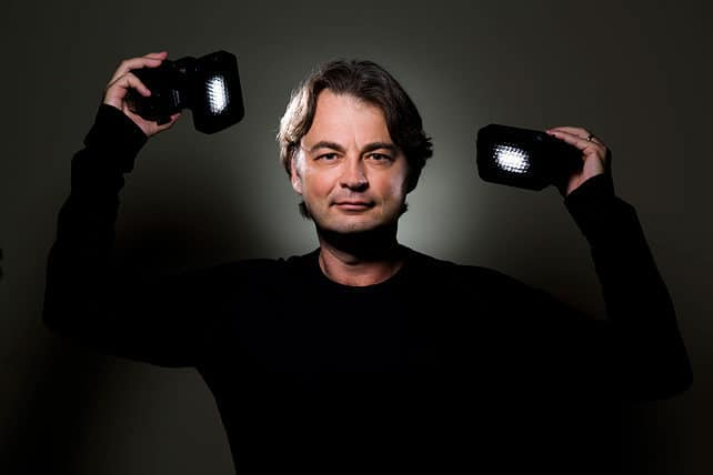 David Honl and his light modifiers