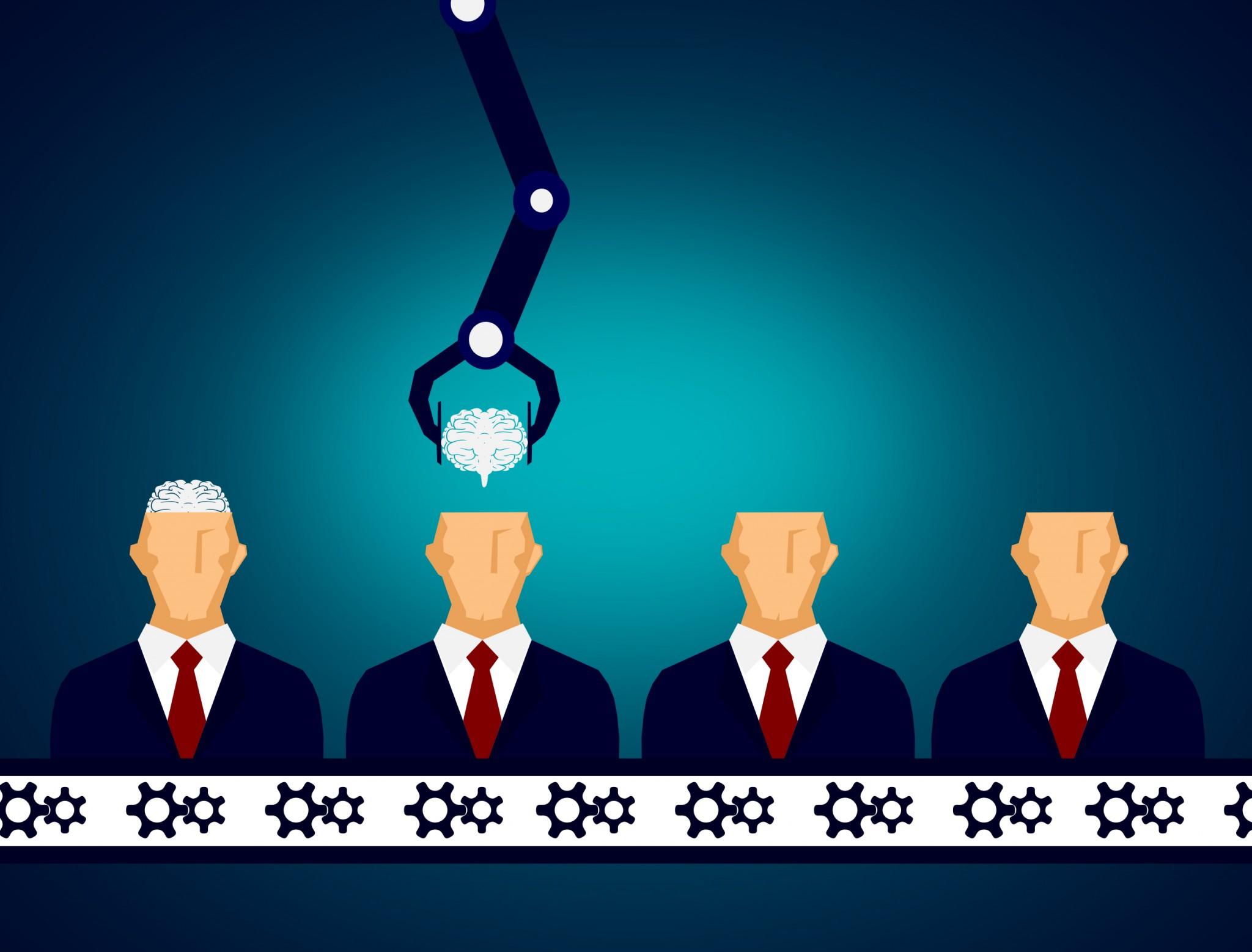 Brainless executives