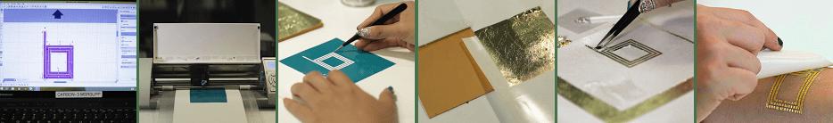 DuoSkin fabrication process