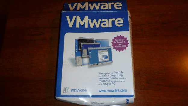 The box of VMware 2.0.