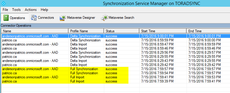 synchronization-imports