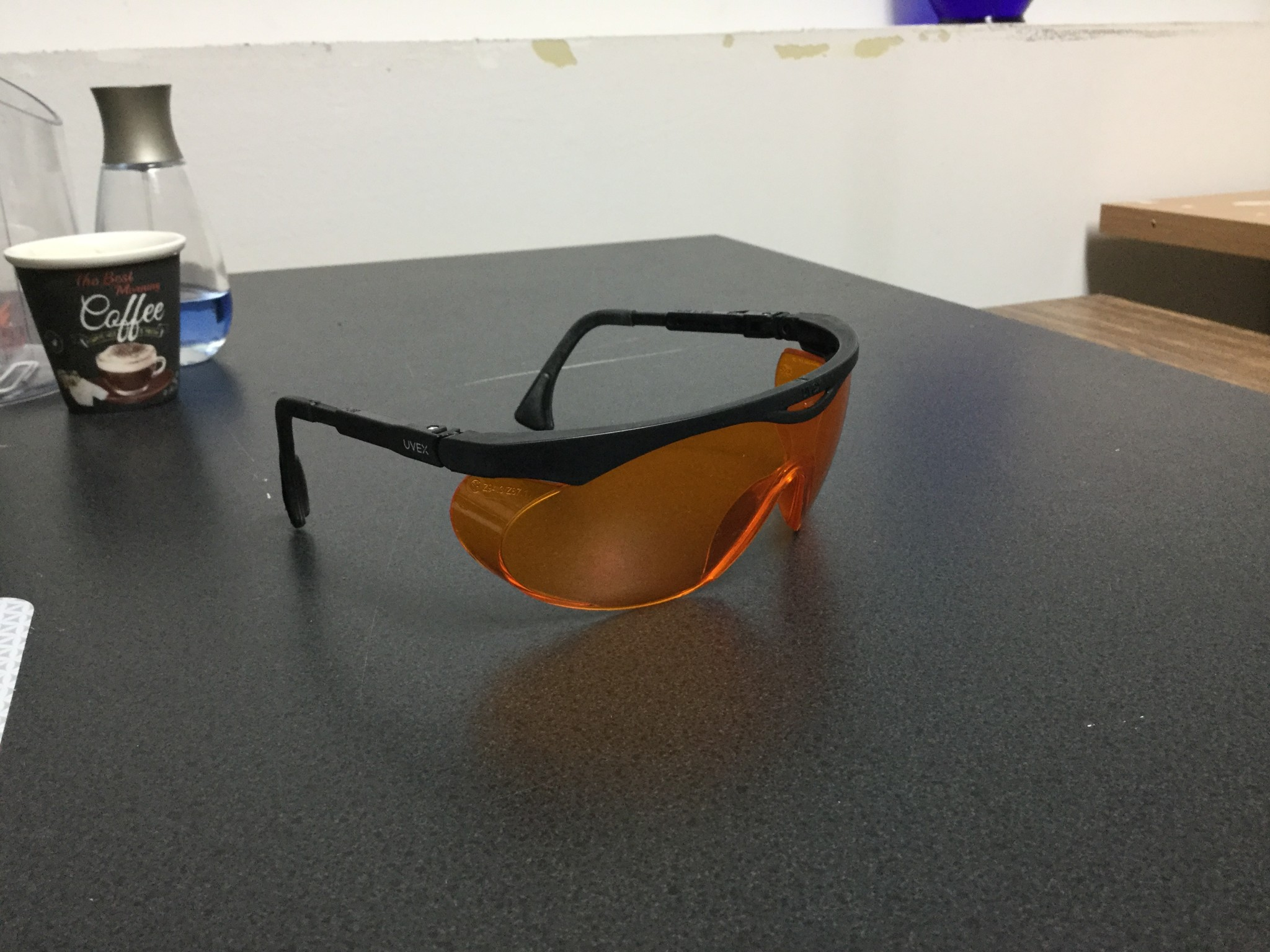 A more comfortable pair of Uvex SCT-Orange glasses