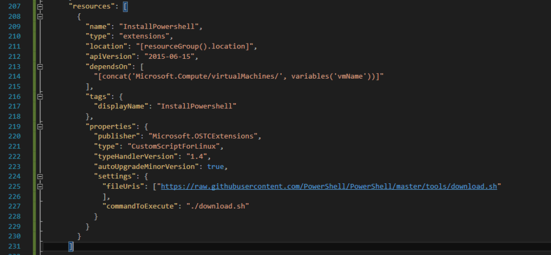 Install Powershell script
