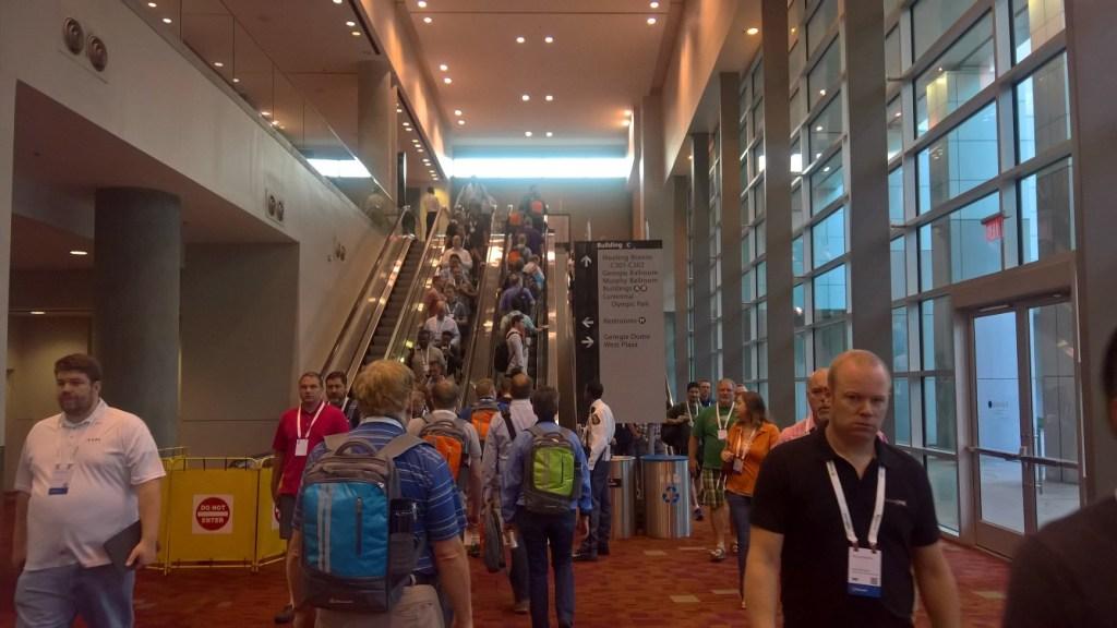 Microsoft Ignite 2016 Conference Hall