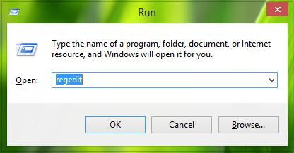 run-regedit