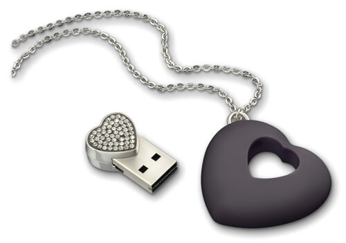 Swarovski-USB-Necklace