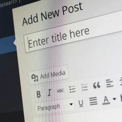 wordpress-new-post-screen   Tech Girl Help Desk