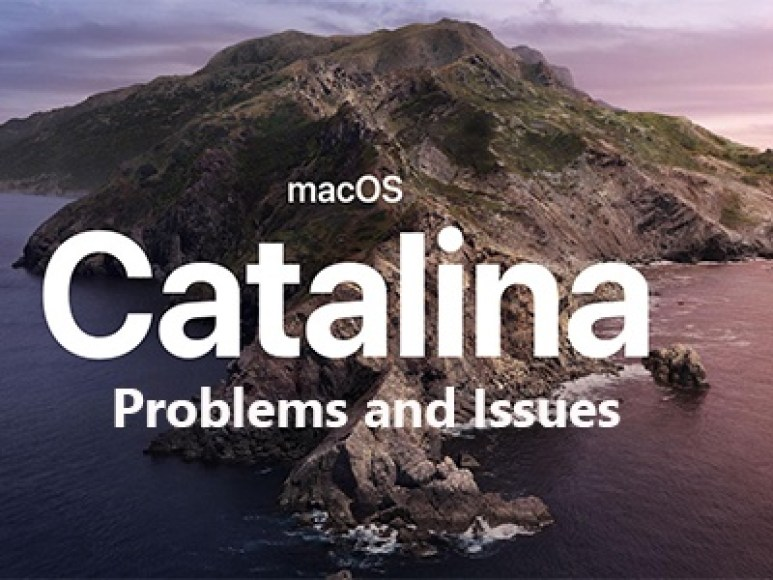 macos catalina problems
