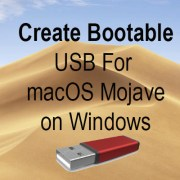 create bootable usb for macos mojave