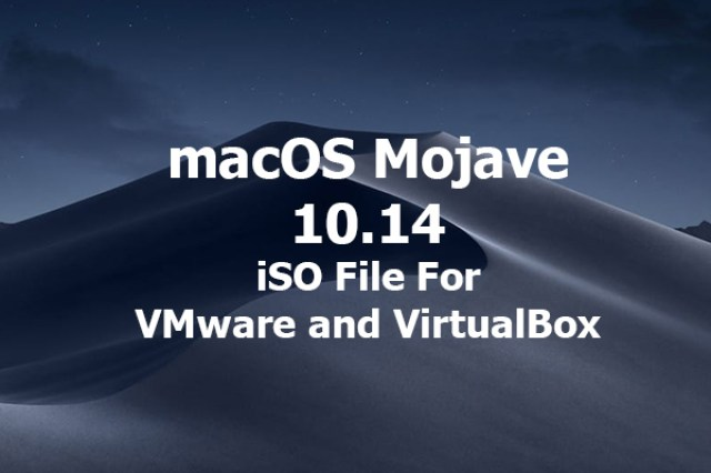 macos mojave iso file download