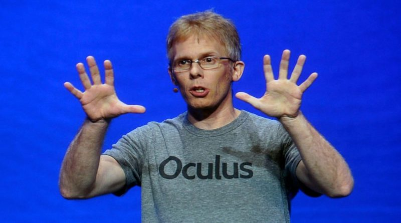 Oculus's CTO John Carmack Resigns To Build His Dream AI Project 'before I get too old