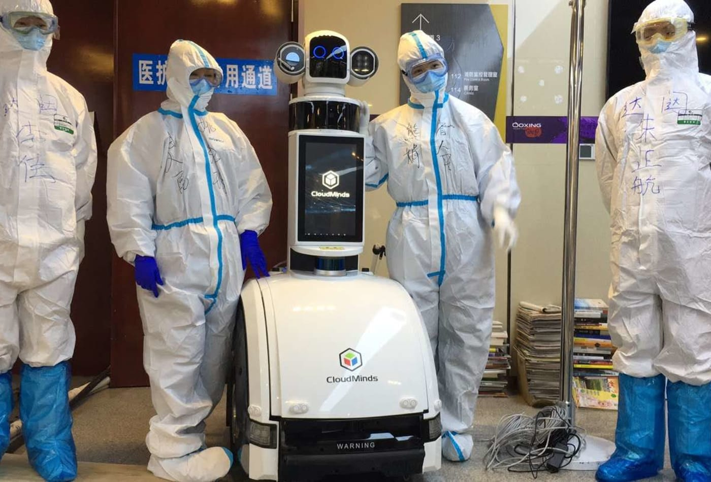 Inside China's Wuhan hospital where coronavirus patients were treated by robots