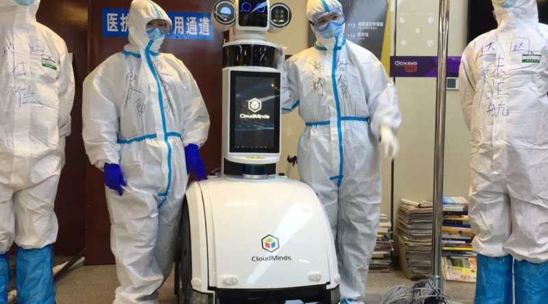 Inside China's Wuhan hospital where oronavirus patients were treated by robots