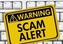 common internet scam