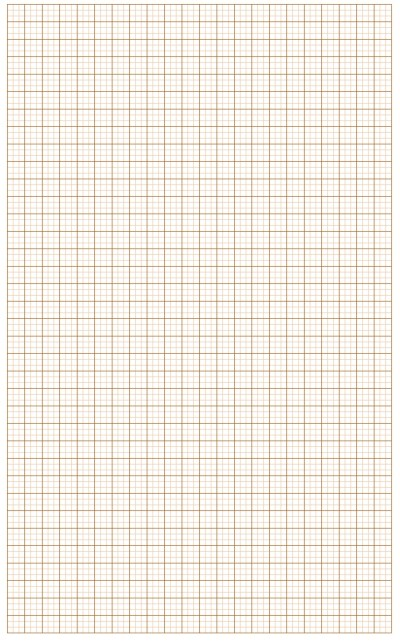 Graph Paper Light Red Lines with Bold Line Small Blocks