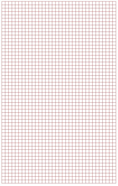 Graph Paper Red Lines
