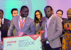 """Kenya's HydroIQ wins """"Startup of the year Africa 2018"""""""