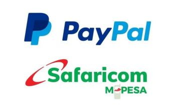 Top up Paypal via m-pesa