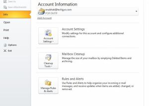 How To Recover Email Password From Outlook? 2