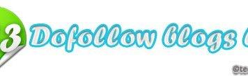 113 dofollow blogs list
