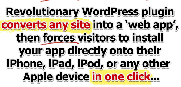 one click mobile app banner