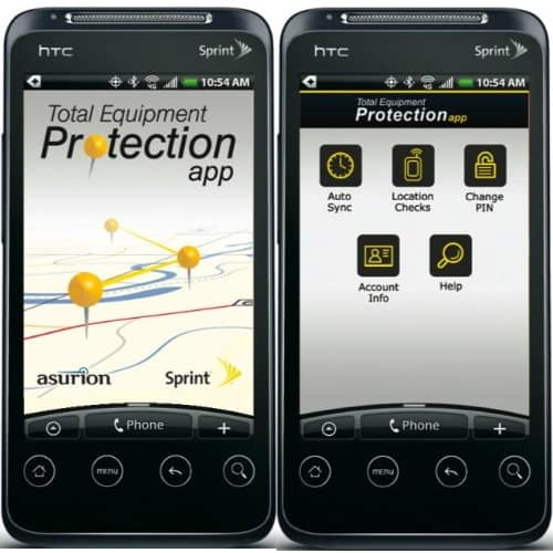 sprint total equipment protection