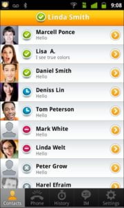ooVoo video chat android app - techgyo review