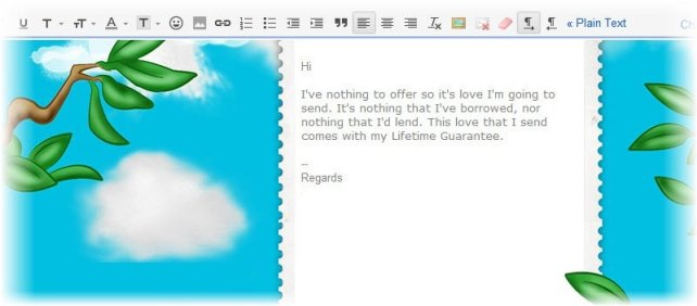 theme for email