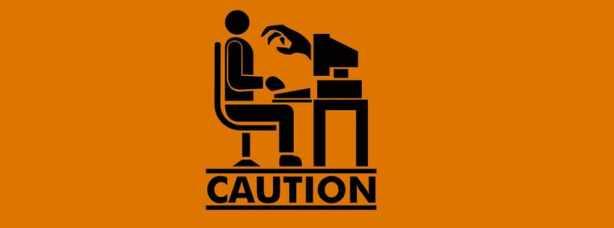 Caution cover design