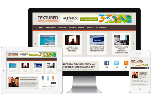 Textured-WordPress-Theme