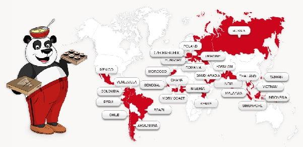foodpanda around the world