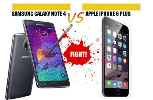 iphone 6 vs note4 comparison
