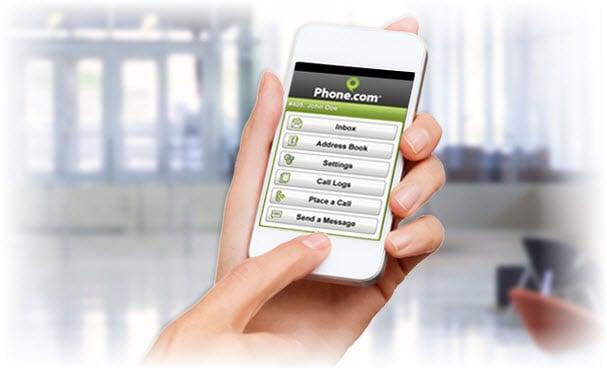 phone dot com virtual PBX screenshot-