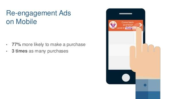 Re-engagement ads