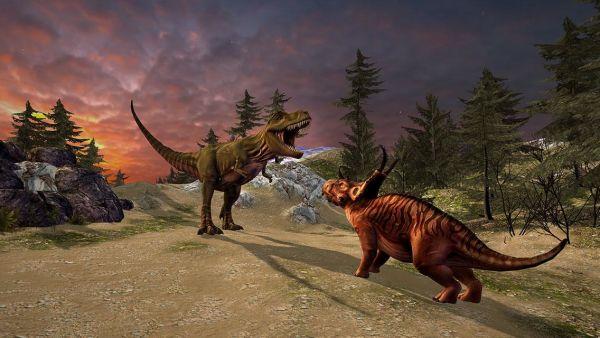 DinoTrek VR Experience game
