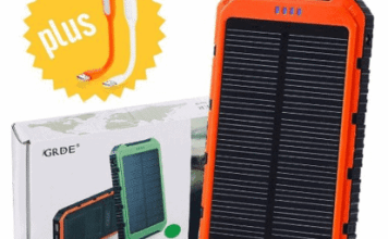 GRDE Solar Smartphone Charger