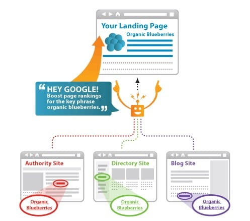 anchored text link building techgyo