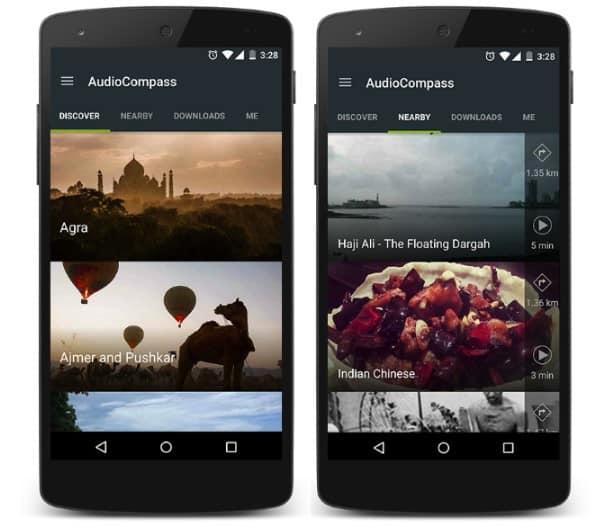 Tourism Mobile App - AudioCompass