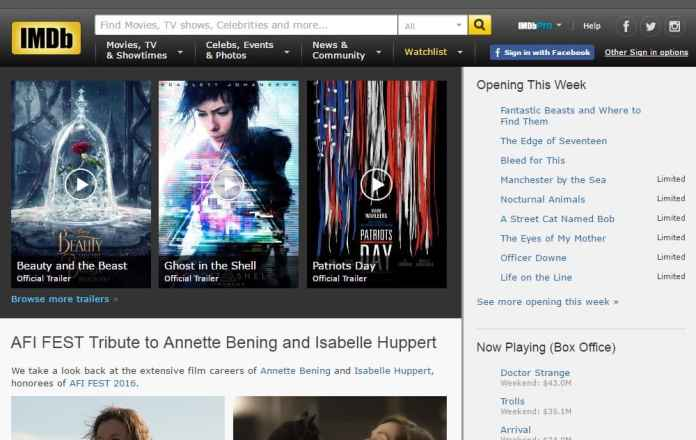 IMDb - The Best Websites on the Internet for Movies