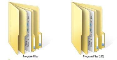 Program Files Folder - 32 bit or 64 bits