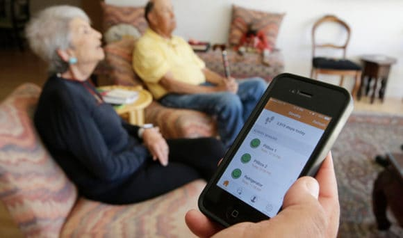 activity monitor iot device for elderly