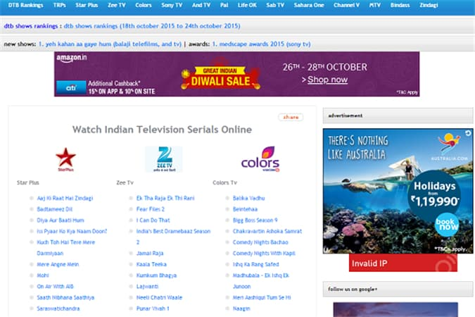 desitvbox-Live TV Indian Channels